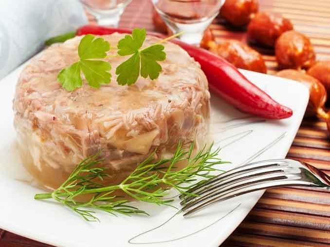Как приготовить холодец из курицы с желатином