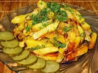 Как приготовить самую вкусную жаренную картошку