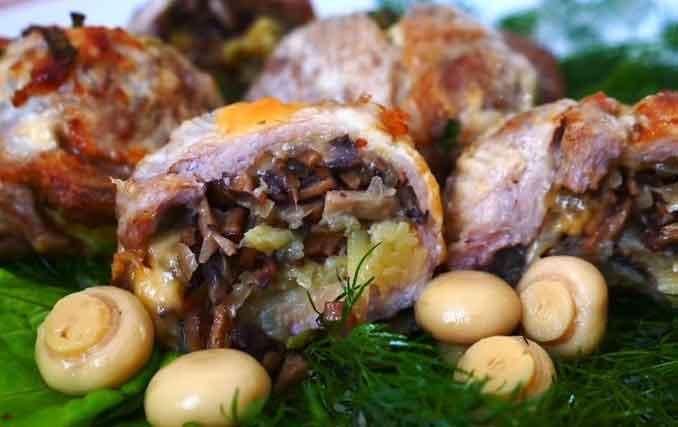 Фаршированное мясо в кружке: оригинальный рецепт