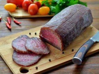 Как приготовить вяленую говядину в домашних условиях