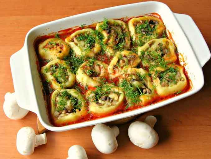 Как приготовить постное горячее блюдо из простых ингредиентов