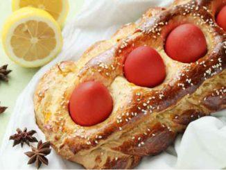 Как приготовить греческий пасхальный хлеб