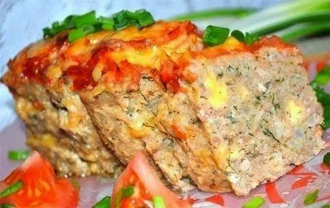 Как приготовить мясной хлебец из фарш