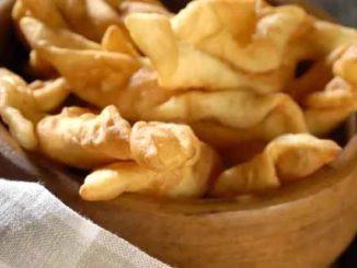Как приготовить хворост из картофеля