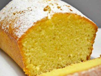 Как приготовить домашний лимонный пирог-кекс