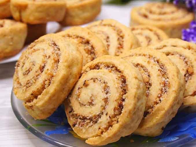 Как приготовить простое постное печенье