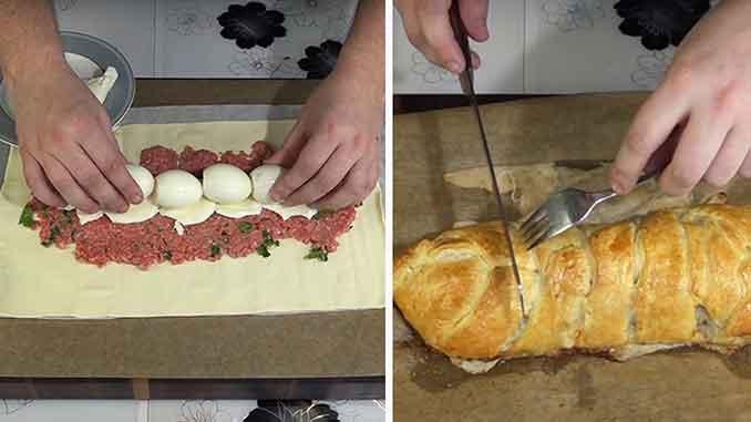 Восхитительный рецепт мясного пирога, от которого невозможно оторваться!