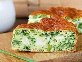Как приготовить пирог с зеленым луком, курицей и сыром