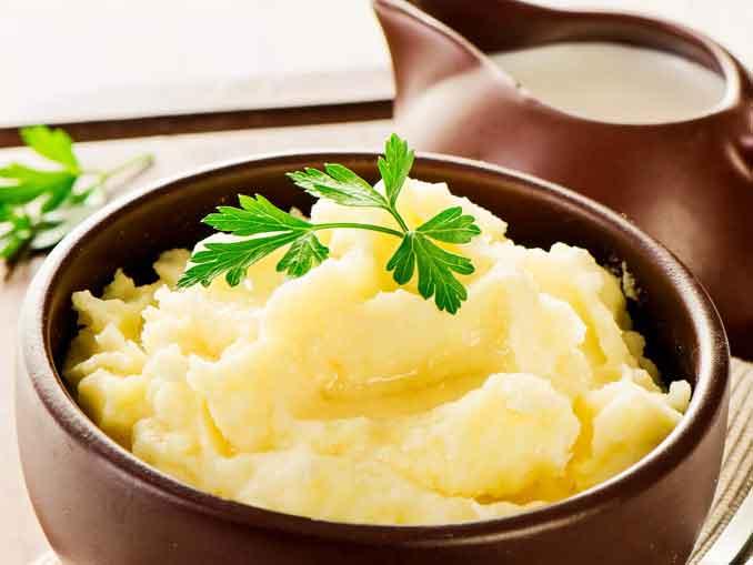 Как приготовить вкусное картофельное пюре на молоке