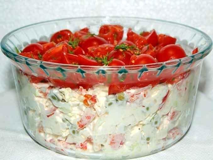 """Как приготовить салат """"Красная шапочка"""""""