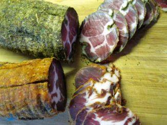 Как вязить мясо в домашних условиях: рецепт вяленой свиной шеи