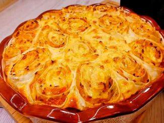 Как приготовить вкусный пирог из лаваша с капустой и грудинкой