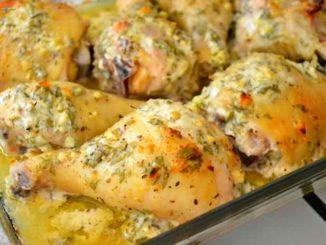 Курица по-гречески - идеальное блюдо, готовится практически само!