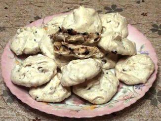 Как приготовить печенье меренги с орехами