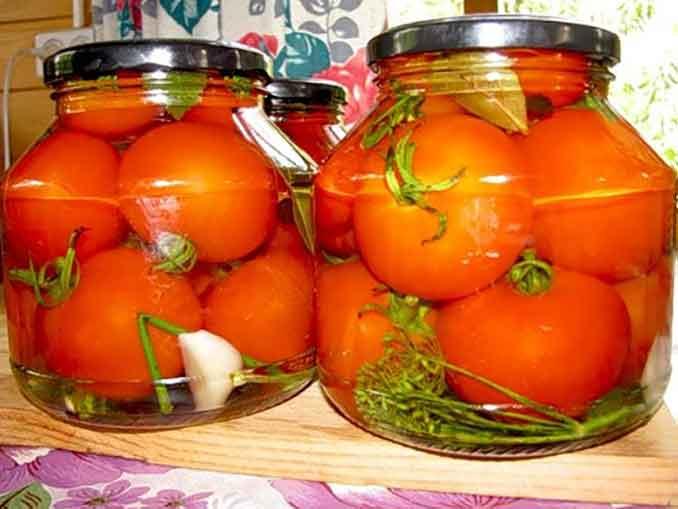 Как замариновать томаты на зиму