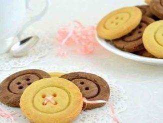 Как приготовить необычное домашнее печенье Пуговки