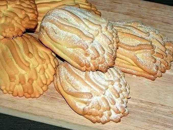 Как испечь печенье «Хризантема»