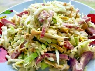 Как приготовить простой и вкусный салат с капустой