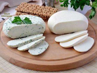 Нежный и вкусный домашний сыр...