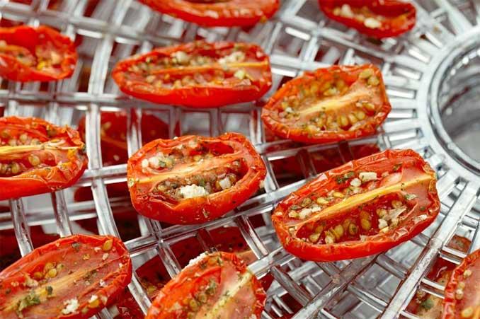 Вкуснейшие вяленые помидоры