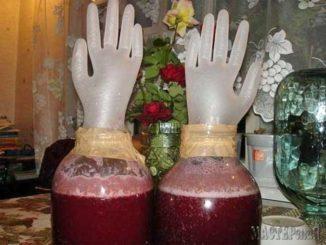 Как приготовить вино из старого варенья