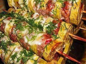 Как необычно приготовить кабачки с фаршем