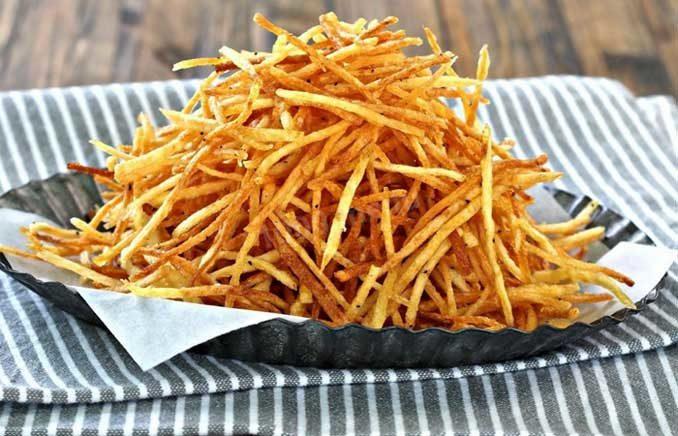 «Соломка»: простой рецепт, который вкуснее, чем картошка-фри!