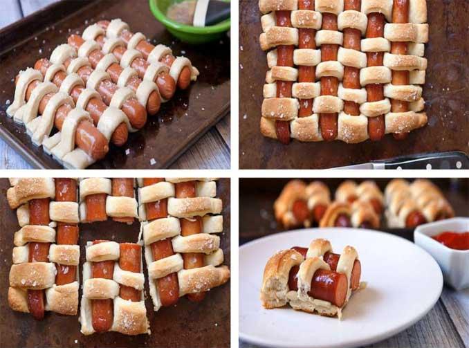 Крутые кулинарные идеи из обычных продуктов!