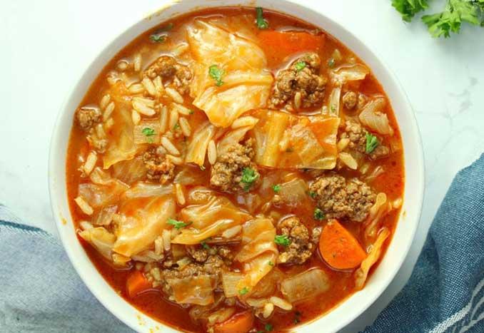 Этот капустный суп - лучший обед для всей семьи!