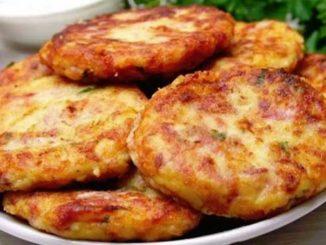 Картофельные шницели - нежные внутри, хрустящие снаружи