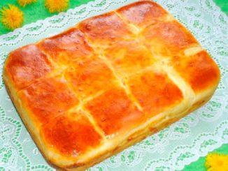 Готовим нежный и вкусный сырный пирог