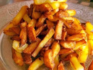 Моя жареная картошка всегда вкуснее чем у других!