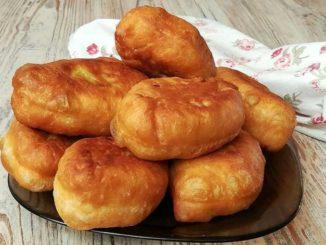 Отличное лёгкое тесто для жареных пирожков и пончиков