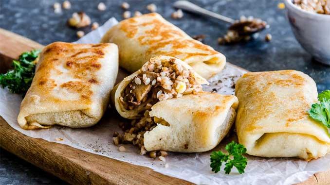 Готовим вкусные и полезные постные блинчики с гречкой