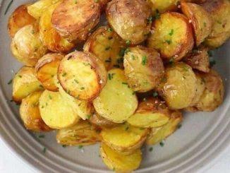 Молодая картошечка с хрустящей корочкой