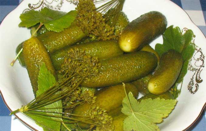 Интересный рецепт засолки огурцов! Остаются хрустящими до самой весны и дольше!