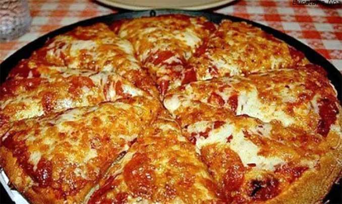 ″Пицца-блин″: Можно приготовить ее за 10 минут